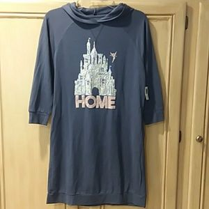 Disney Parks small New glitter home sweatshirt